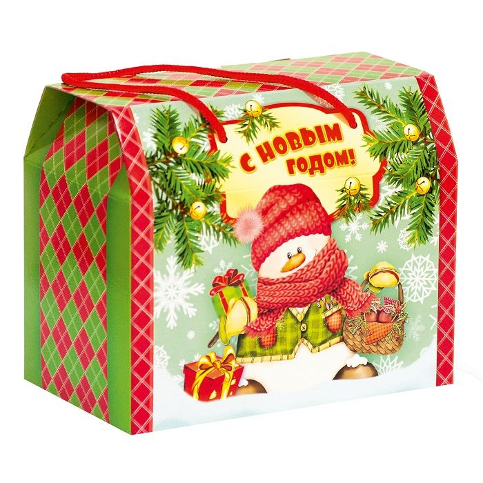 Чемоданчик Дед Мороз и Снегурочка