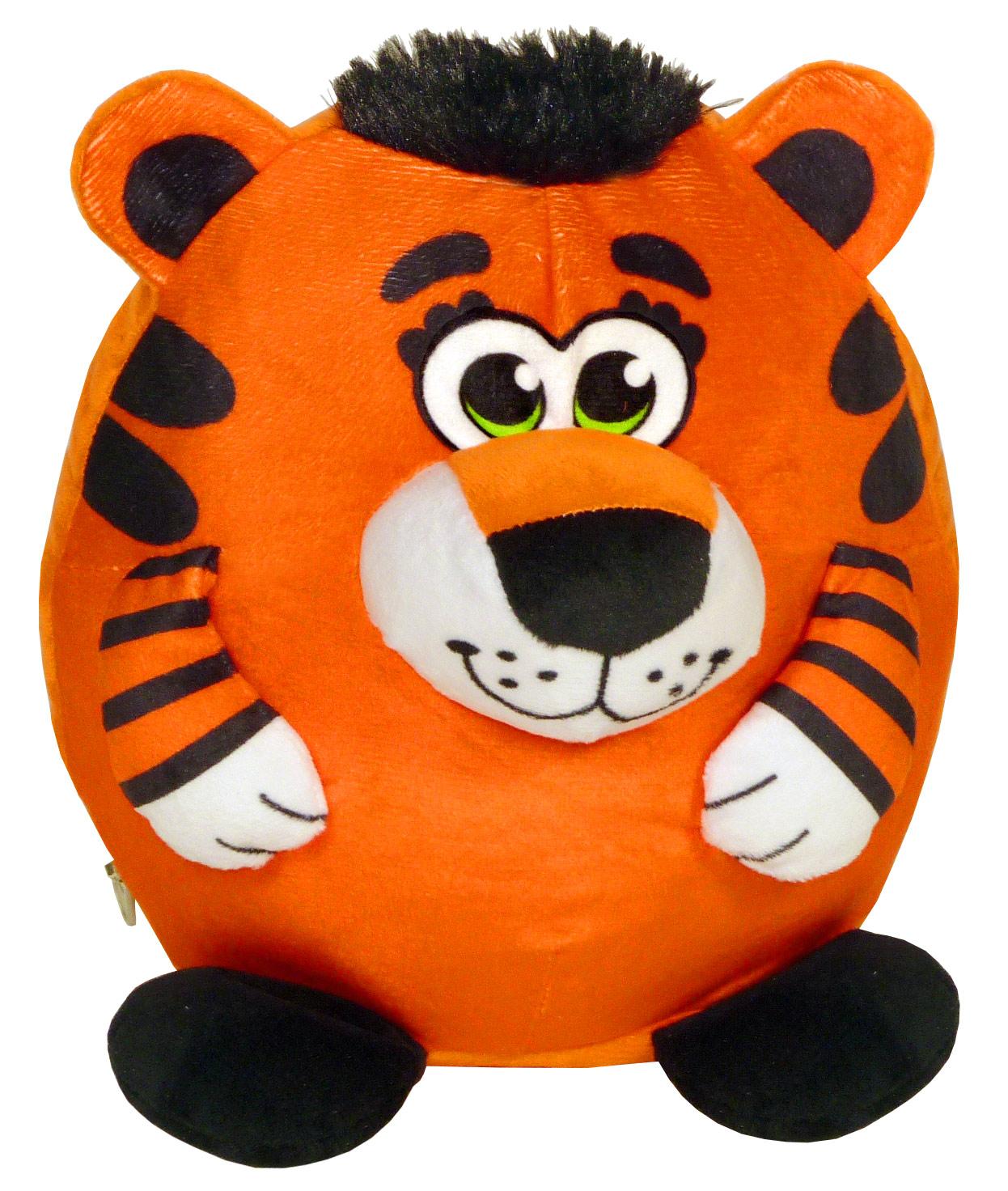 Тигр в полосатой шапочке