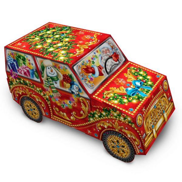 Машинка в праздничную ночь