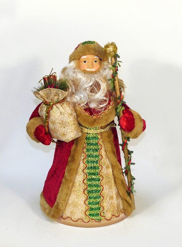 Дед мороз с зелёной полоской