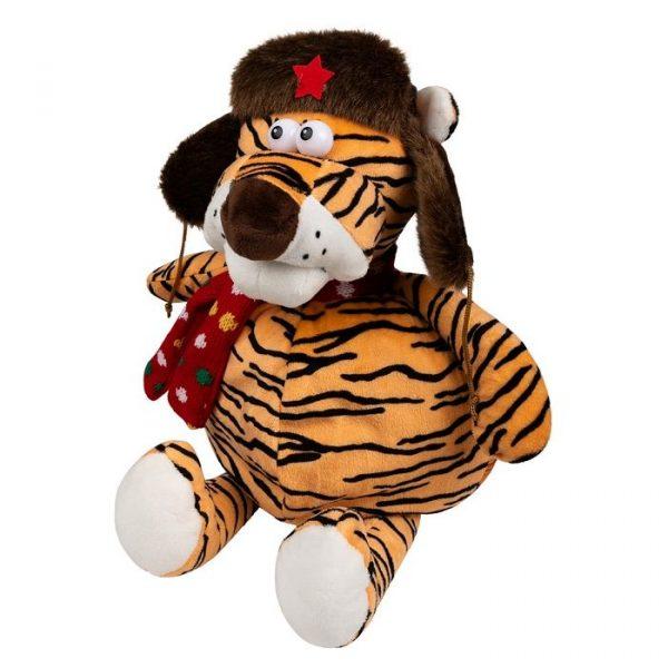 Тигр в шапке-патриот